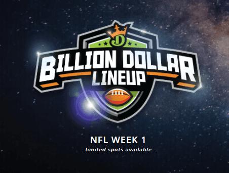 DraftKings Billion Dollar Lineup