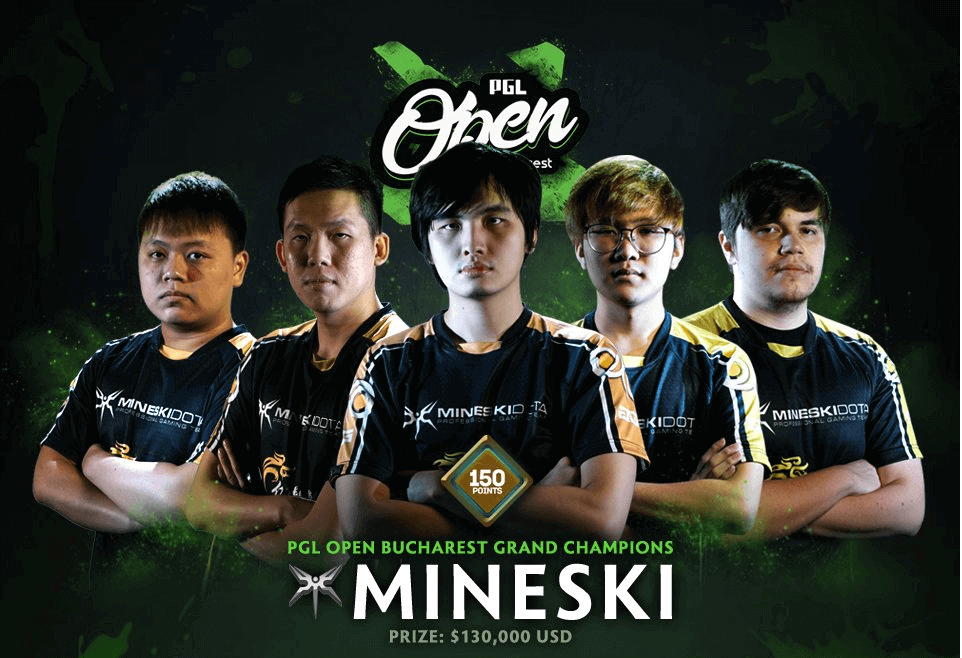Mineski wins PGL Open Bucharest