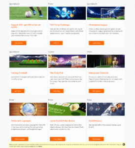 Betsson Promotions Overview