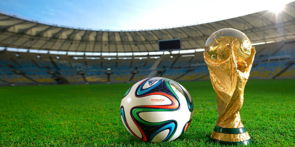 World Cup Trophy Brazuca Ball Free Wallpaper HD