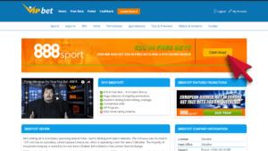 888sport Bonus Step 1