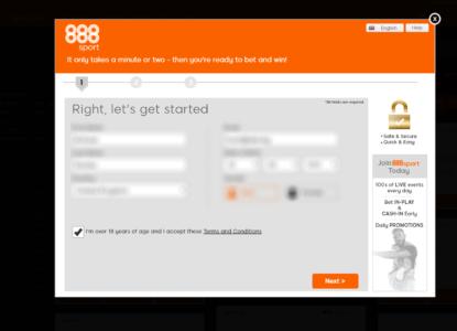 888sport Bonus Step 3