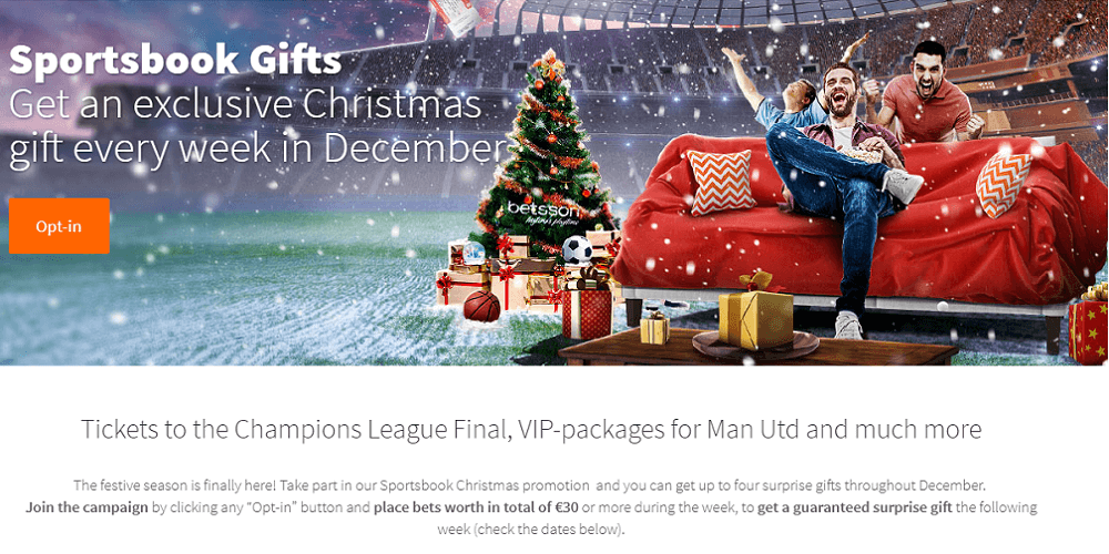 Betsson Sportsbook Gifts Featured Image