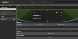 Cloudbet In Play Soccer Betting