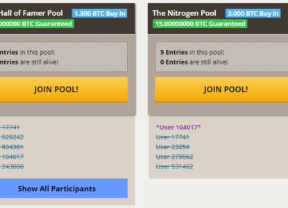 Nitrogen Sports Prize Pool