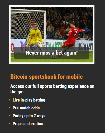 Cloudbet Mobile 2