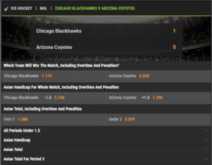 Live Betting Options Cloudbet