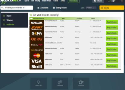 Sportsbet.io How To Buy Bitcoin