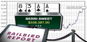 BERRI SWEET Is The Biggest Winner At The Online High Stakes In 2017
