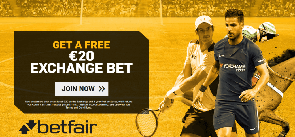 Betfair Exchange Free Bet