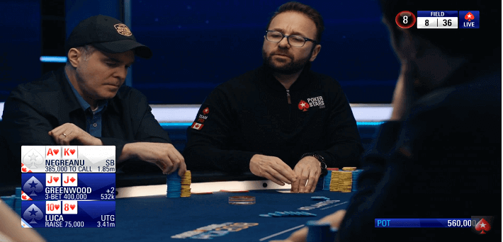 Watch The 100000 PCA Super High Roller With Hole Cards Here