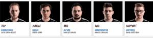 Team Vitality Roster