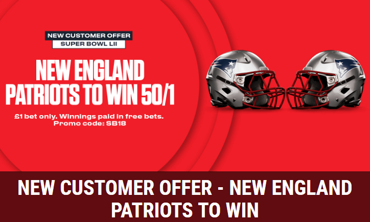 Ladbrokes Super Bowl Enhanced Odds