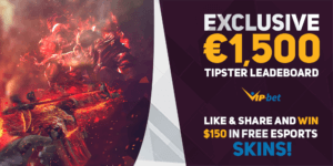 Vip-Bet Tipster Leaderboard Promo eSports