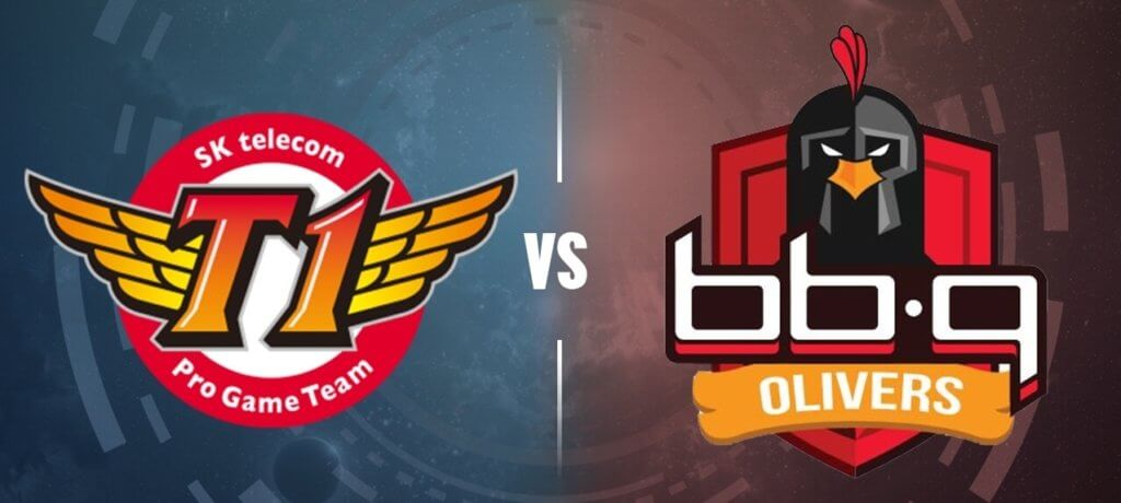 SK Telecom T1 vs bbq OLIVERS (2018 League Champions Korea (LCK) Spring Split, Best of three series