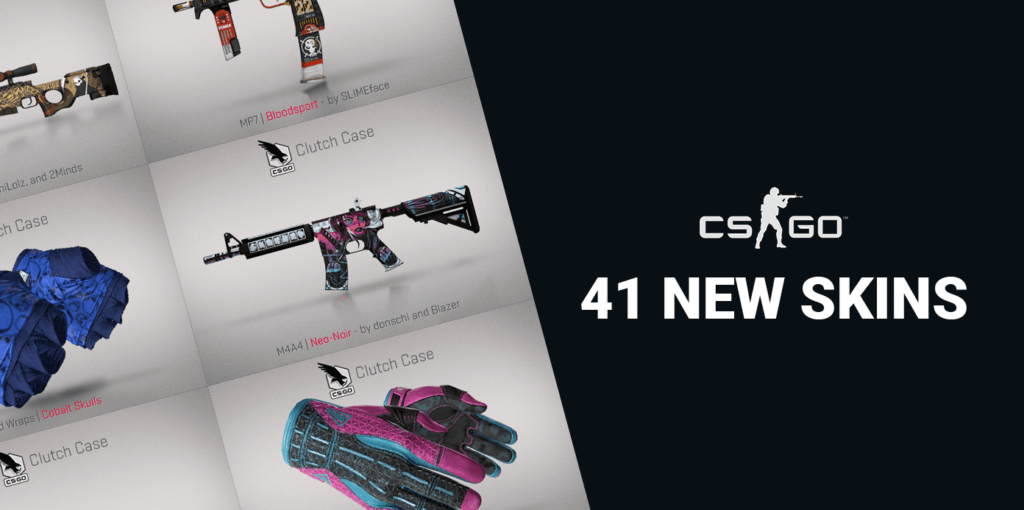The Clutch Case adds 24 new glove skins to CS:GO