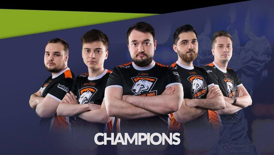 Team Russia are the champions of WESG 2017