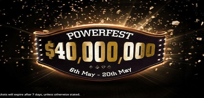 40 Milliion Dollar Guaranteed At The Biggest Partypoker Powerfest Ever