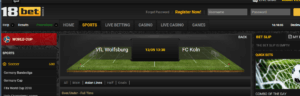 18Bet Asian Betting Lines