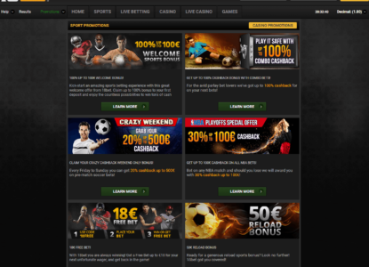 18Bet Promotions Overview