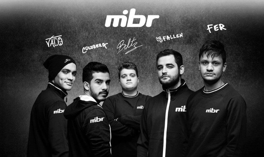 Fallen and his teammates left SK.Gaming to join MIBR