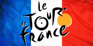 Tour De France Logo On France Flag 1920x1080 746 Hd