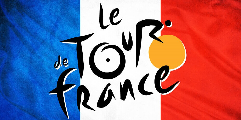 Tour De France Logo On France Flag 1920x1080 746 Hd