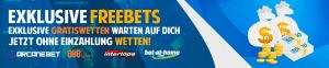 Exclusive Freebets DE