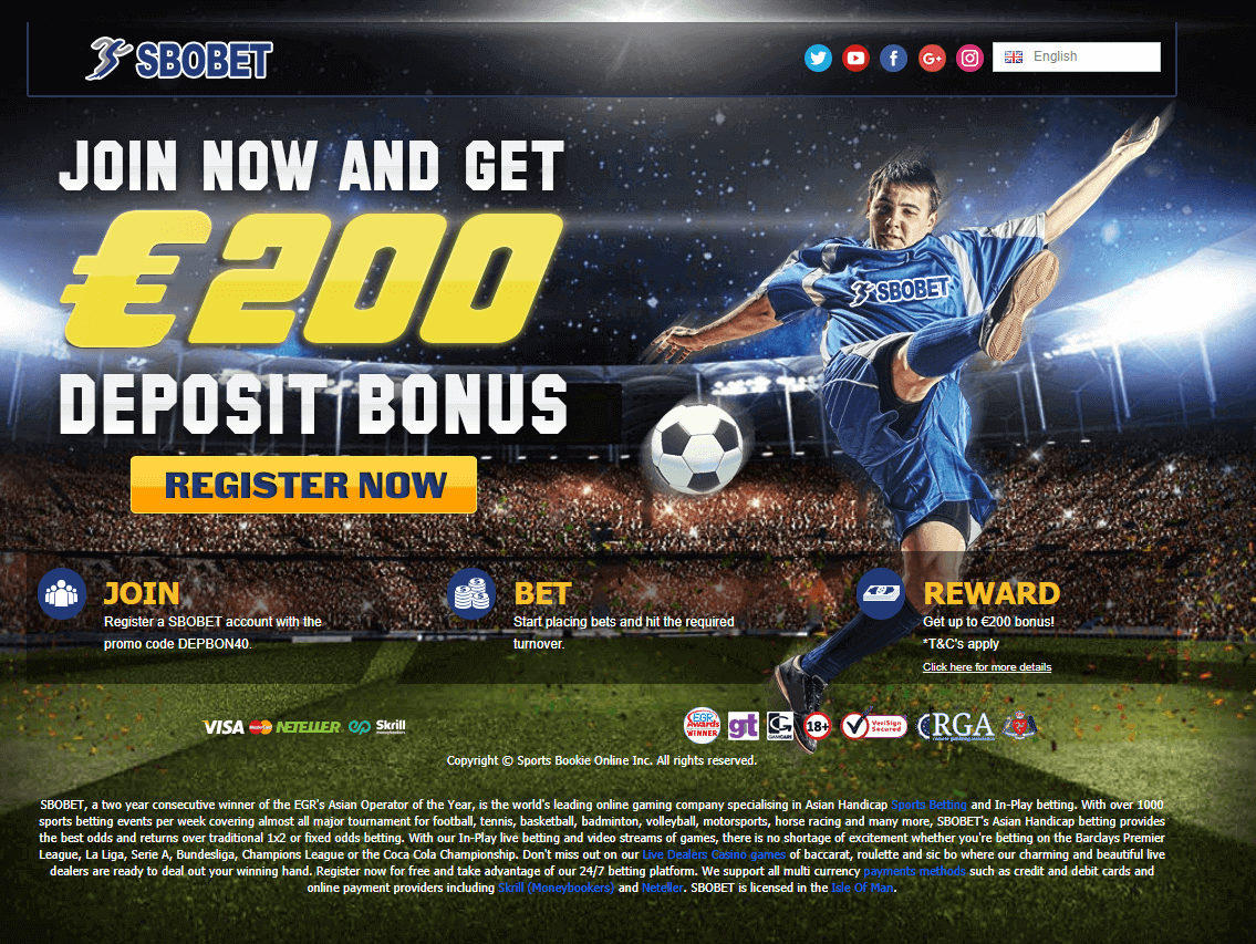 SBOBet Deposit Bonus Welcome Offer (1)