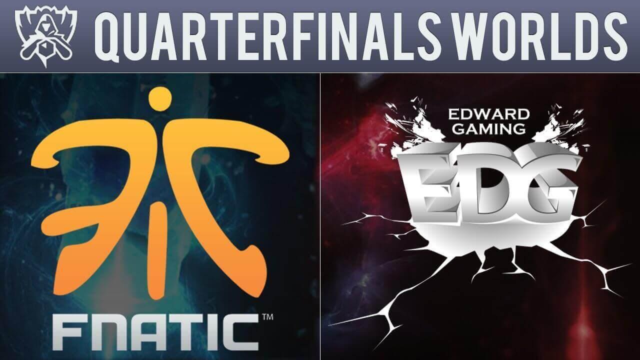 Fnatic LoL vs Edward Gaming Betting Preview