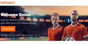 Betsson Betting Bonus - €150 Upon Sign Up