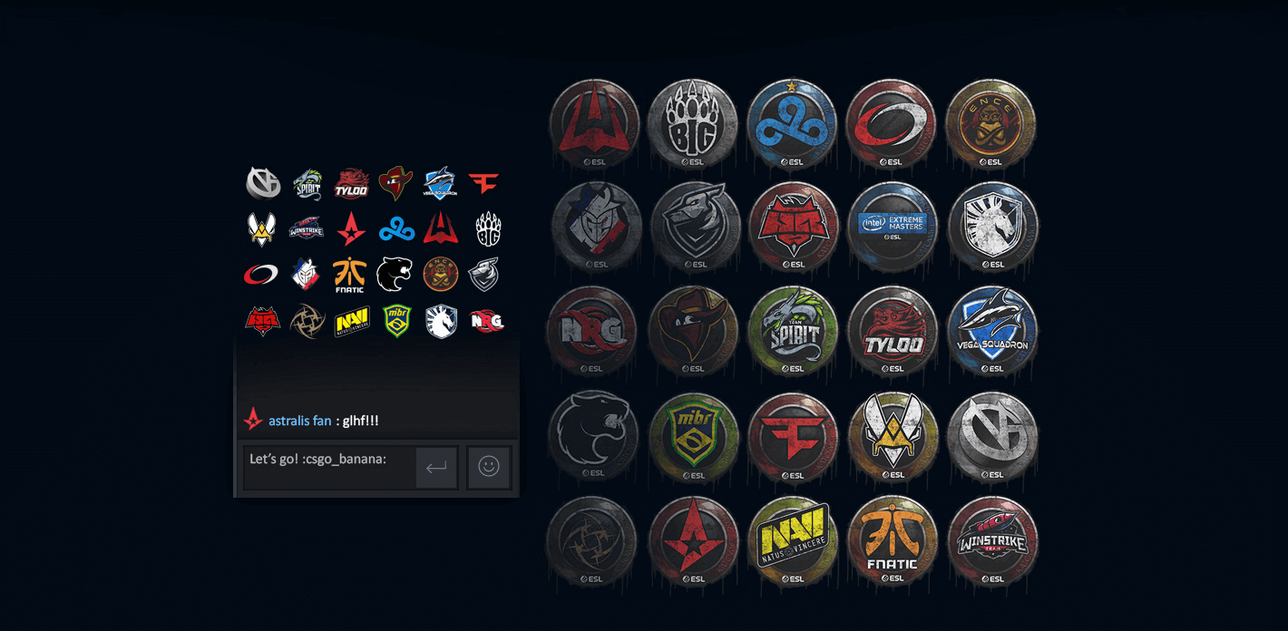 Get Your CS:GO Stickers! Picture3