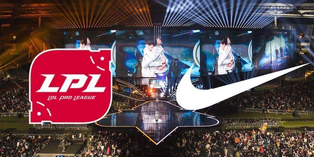 Nike is sponsoring LPL VIP-Bet.com