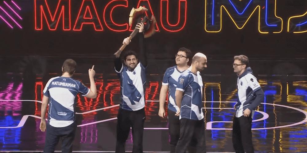 Team Liquid wins MDL Macau 2019 VIP-bet.com