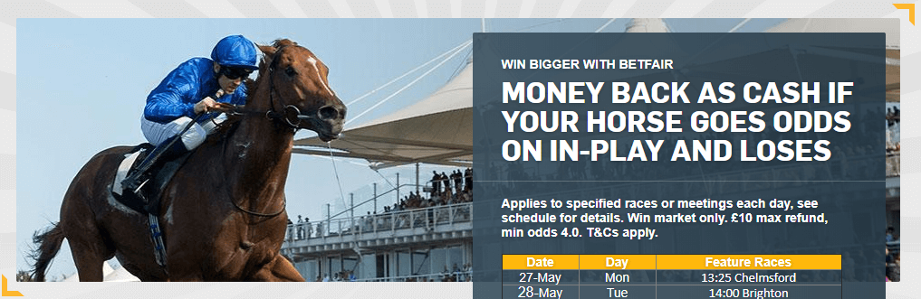 Betfair Exchange Signup Offer