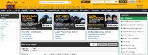 Betfaix Exchange Homepage