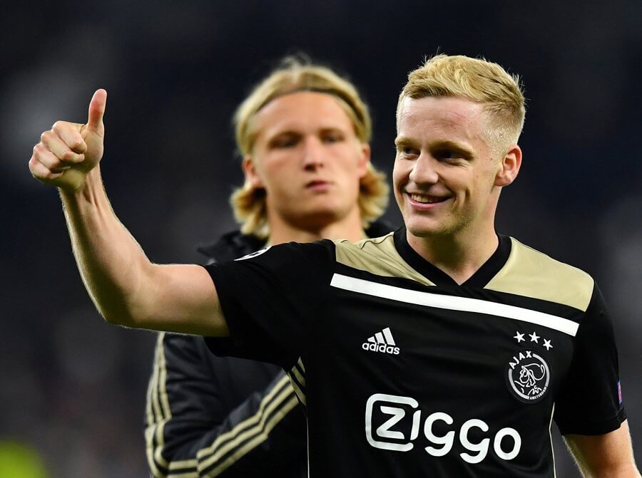 Van de Beek, Ajax vs Tottenham Betting Preview