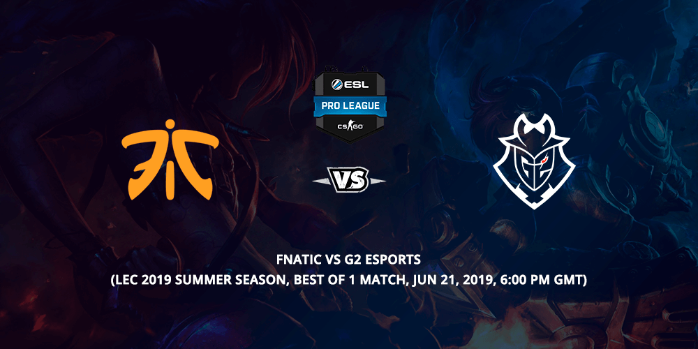 Fnatic Vs G2 Betting Tips Feature Image