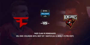 FaZe Clan vs Renegades Betting Tips