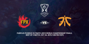 Funplus Phoenix Vs Fnatic Betting Tips 2019