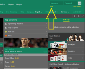 Bet365 sign up steps