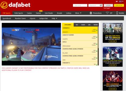 Dafabet eSports