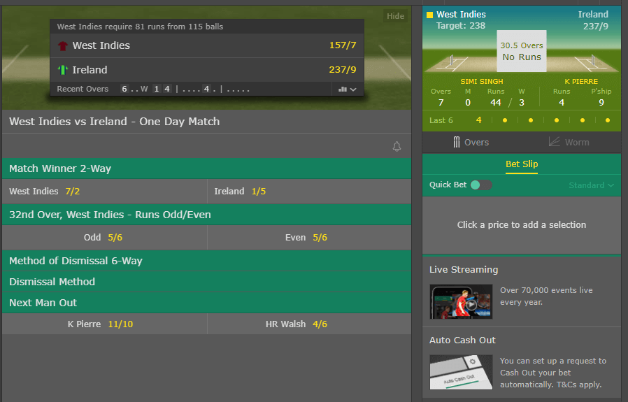 Bet365 ICC Cricket World Cup