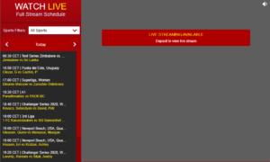 Dafabet Live Stream Calendar