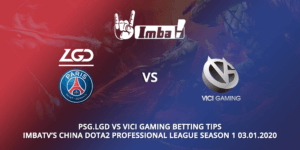 Psg.lgd Vs Vici Gaming Betting Tips
