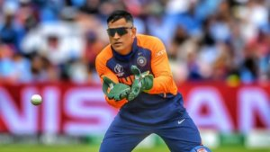 MS Dhoni - Wicket-Keeper position in cricket