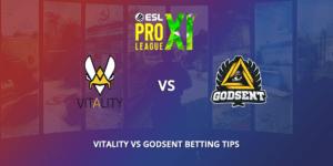 Vitality Vs GODSENT Betting Tips VIP-Bet.com