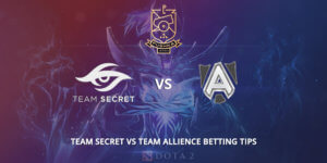 Team Secret Vs Allience Betting Tips