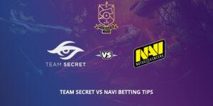 Team Secret Vs NaVi Betting Tips