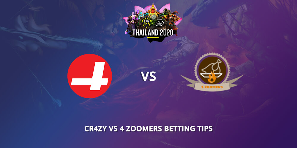 Cr4zy Vs 4 Zoomers Betting Tips VIP-Bet.com